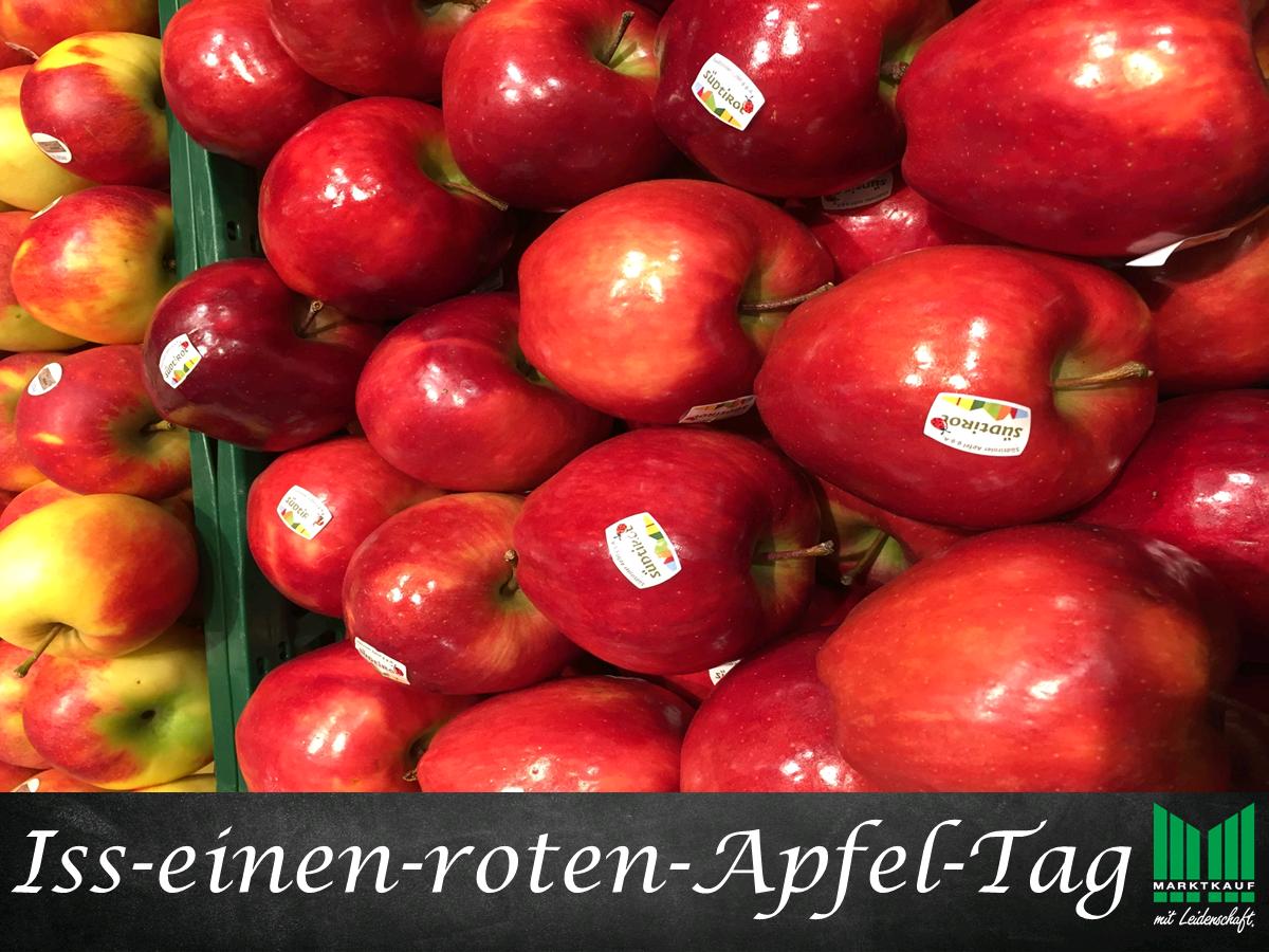Iss-einen-roten-Apfel-Tag