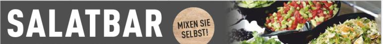 Salatbar- jetzt NEU: Mixen Sie selbst! 100 g für 0,99EUR