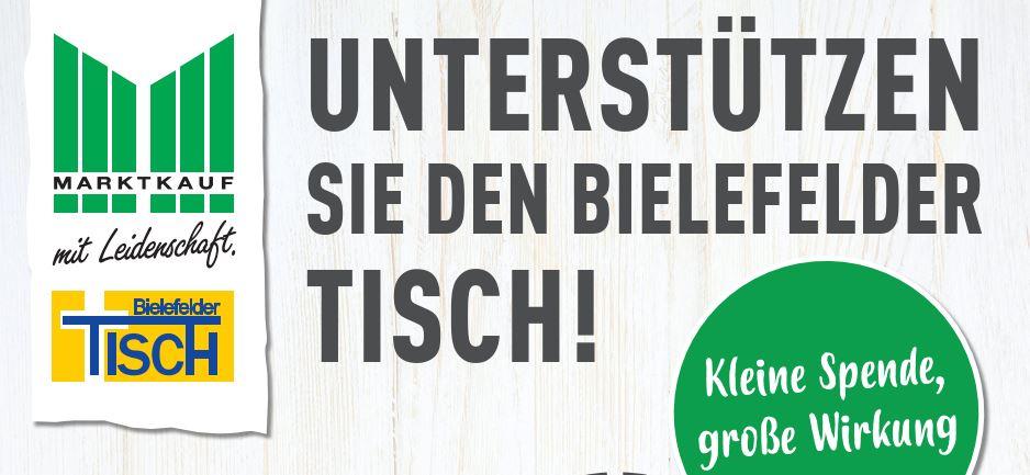 Für den guten Zweck – Spendenaktion für den Bielefelder Tisch